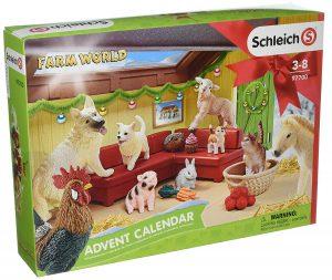 Schleich Spielzeug-Adventskalender Farm World