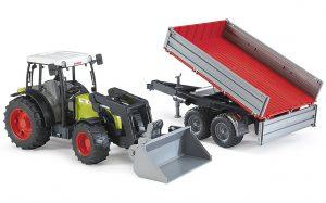 Bruder 02112 Claas Nectis 267 F im Spielzeug-Traktor Vergleich