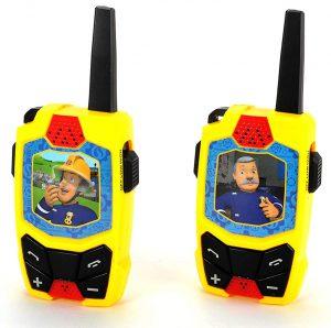 Dickie Toys Feuerwehrmann Sam Walkie-Talkie für Kinder