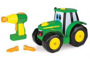 John Deere Tomy Bau-dir-deinen-Johnny-Traktor - Kinder Traktor im Spielzeug-Traktor Vergleich