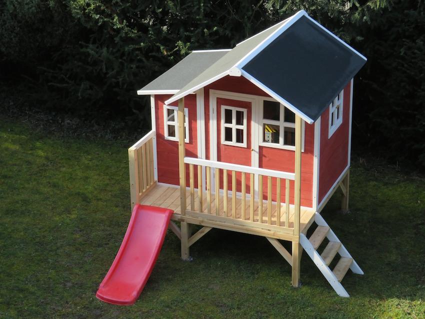 Ein Schwedenhaus Für Kinder Das Exit Loft 350 Spielhaus Im Praxis Test