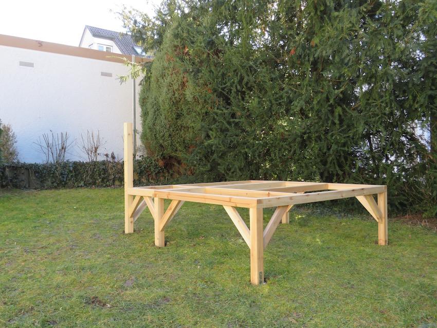 EXIT Loft 350 Holzspielhaus_Grundgerüst