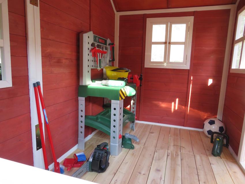 EXIT Loft 350 Holzspielhaus_Innenansicht