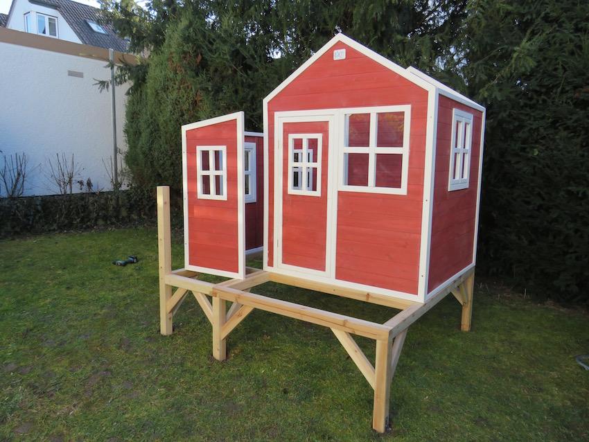 EXIT Loft 350 Holzspielhaus_Zwischenschritt