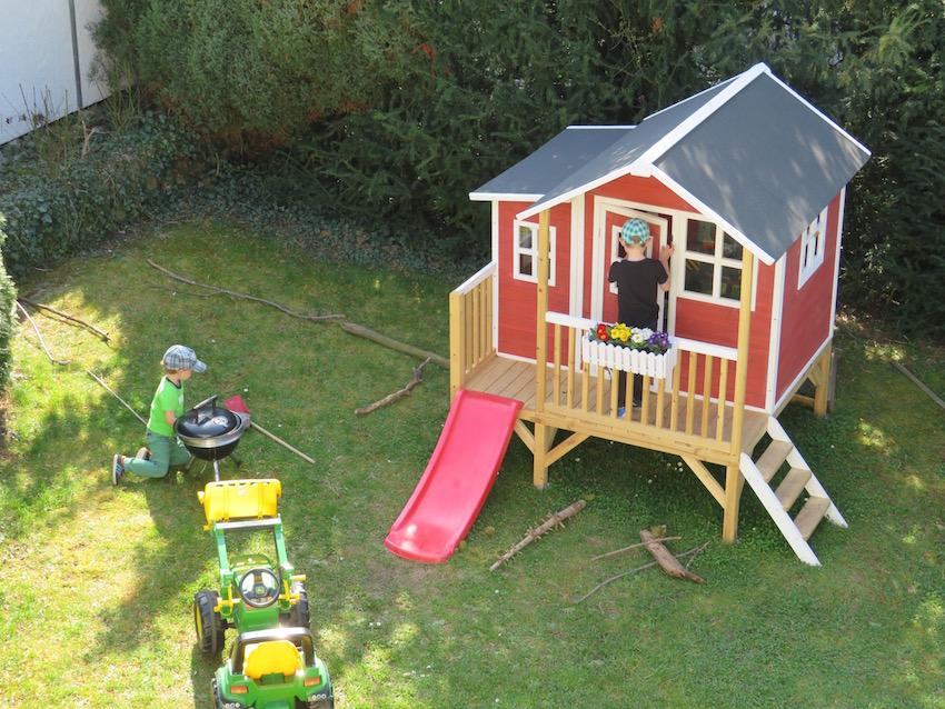EXIT Loft 350 Holzspielhaus_Spielbetrieb