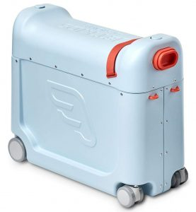 JetKids by Stokke RideBox Blue Kindergepäck im Kinderkoffer Vergleich