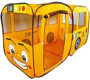 Dominiti XXL Bus Spielzelt im Kinderzelt Vergleich