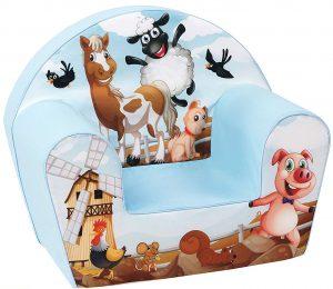 DELSIT Bauernhof-Sessel im Kindersessel Vergleich