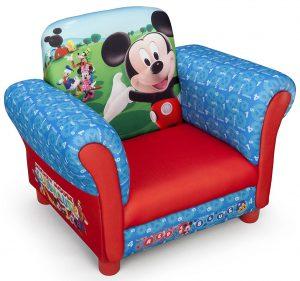 Mickey Mouse Kindersessel mit Holzrahmen