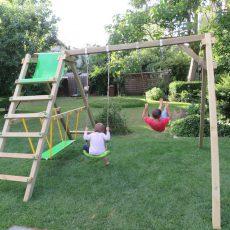 Schaukeln, klettern und relaxen im eigenen Garten – Die Fatmoose JollyJade Wave XXL Doppelschaukel im Praxis-Test
