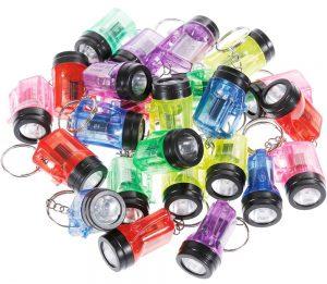 Kinder Mini-Taschenlampen als Mitbringsel für den Kindergeburtstag
