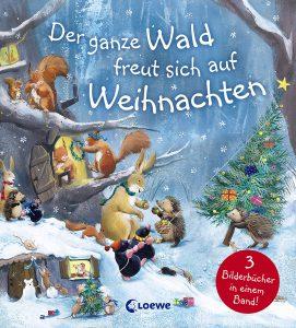 Weihnachtsbücher für Kinder: Der ganze Wald freut sich auf Weihnachten
