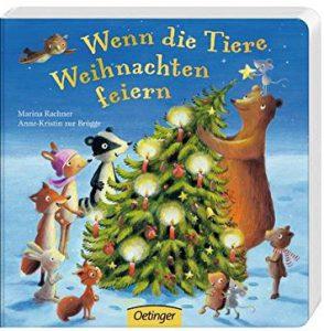 Wenn die Weihnachtsbücher für Kinder: Tiere Weihnachten feiern