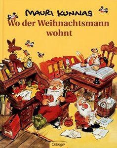 Weihnachtsbücher für Kinder: Wo der Weihnachtsmann wohnt