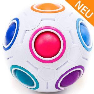 CUBIXS® Regenbogenball Geschicklichkeitsspiele für Kinder