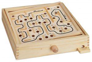 Relaxdays Holz Labyrinth Spiel