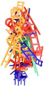 WEofferwhatYOUwant Stapelspiel Stühle & Leitern