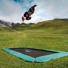 Bodentrampolin-Vergleich – Die besten Inground-Trampoline für den Garten