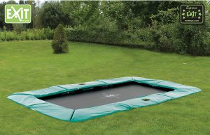 EXIT Supreme Ground Level Trampolin rechteckig