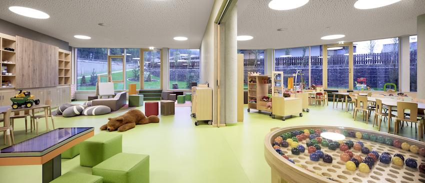 Kinder- und Babybetreuung im Alpenrose Familux Resort