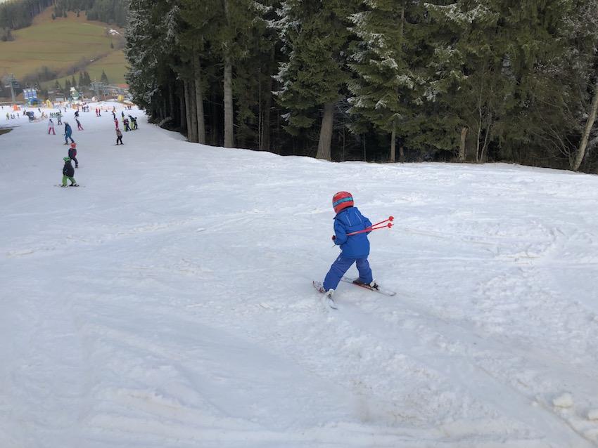 Skifahren in Jungholz_Auf_der_Piste