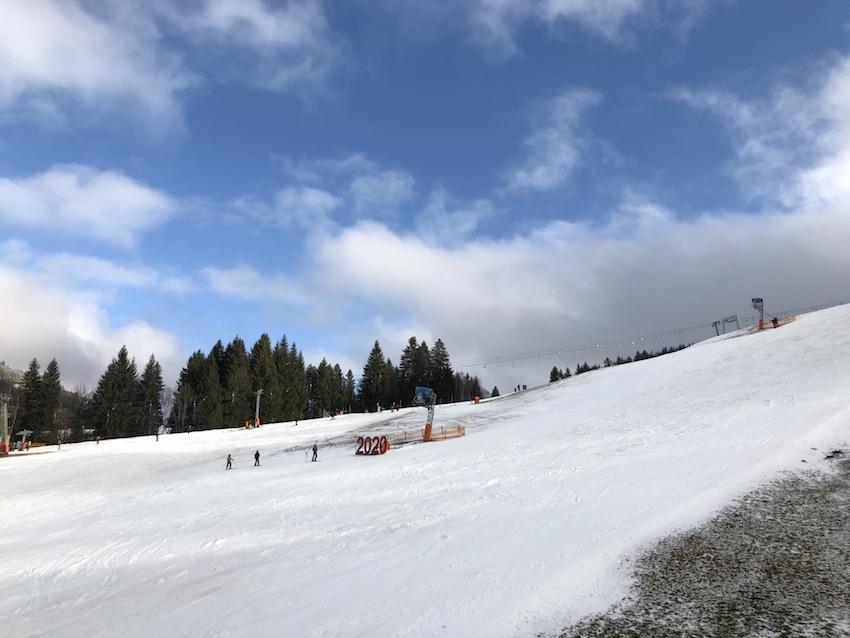 Skifahren in Jungholz_Blick vom Steinberglift